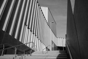 Nottingham Contemp steps