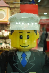 Lego security guard