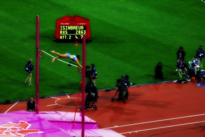 Jump, Athlete, Jump