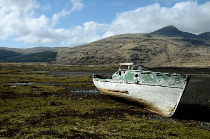 Loch Beg boat